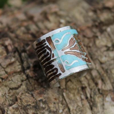 Taj ring silver